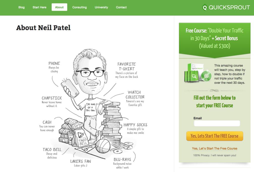 Neil Patel Bio