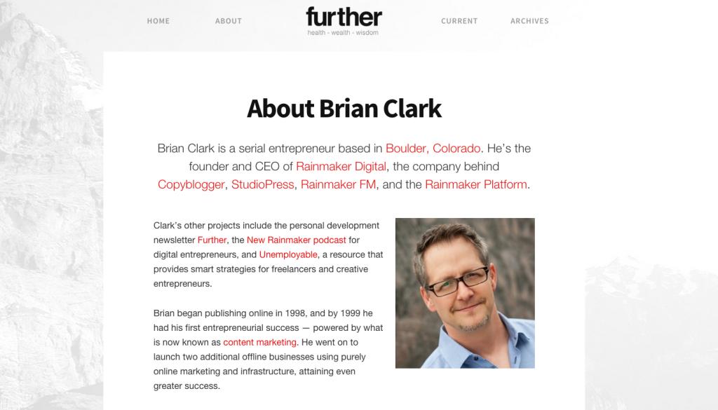 Brian Clark Bio