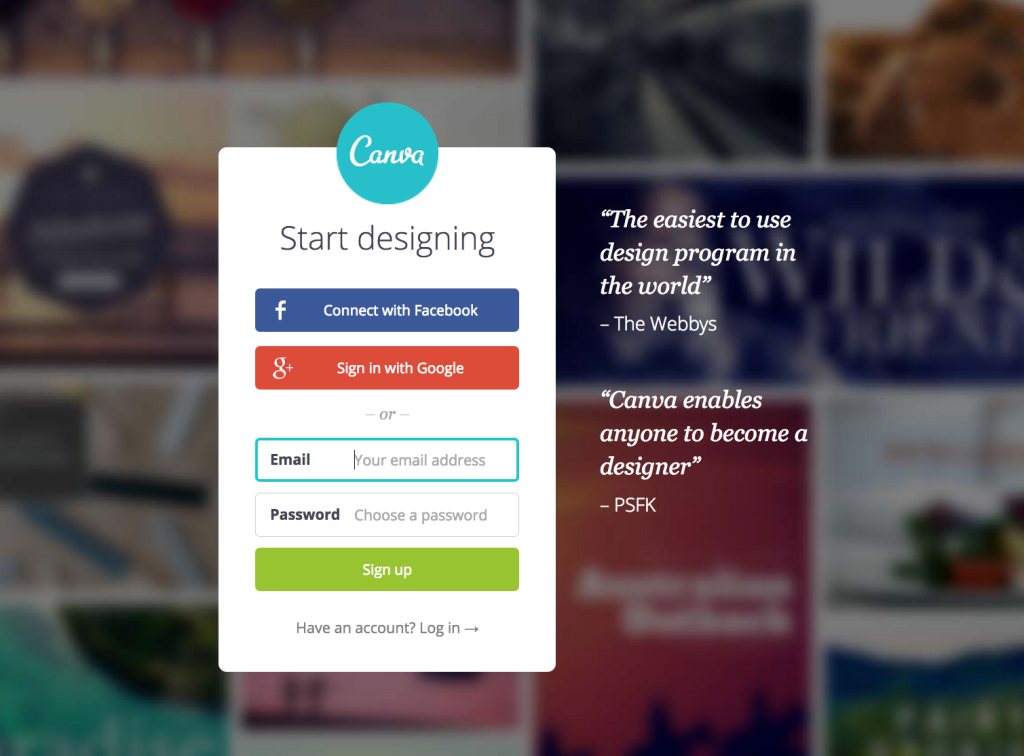 Canva Graphic Editor