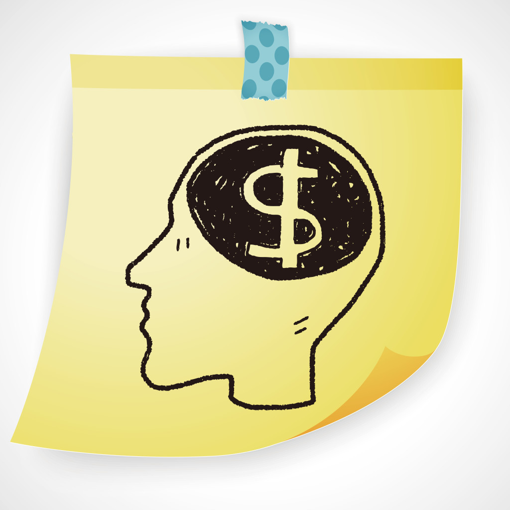 brain money doodle