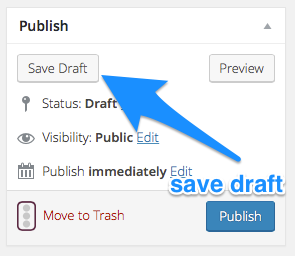 How to Save a Draft in WordPress How to Set Up WordPress Today
