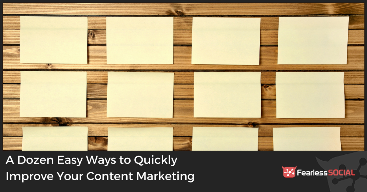 Ways to Improve Content Marketing
