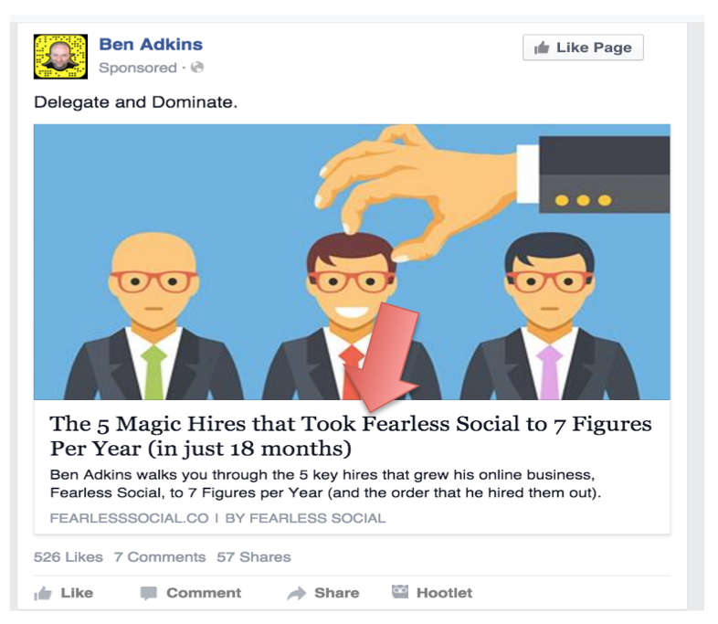 How to Write a Facebook Ad Headline